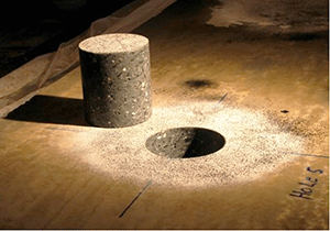Taking Concrete Cores is Often Required to Establish Concrete Slab Condition