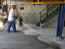 ACTECH Oil Buster Epoxy Oil Contamination Concrete Sealer Substrate Commercial Flooring Prep